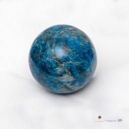 Sphère - Apatite bleue