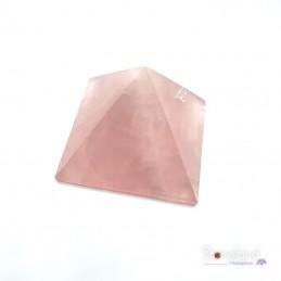 Pierre Pyramide - Quartz Rose