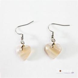 Boucles d'oreilles - Agate