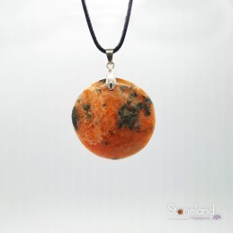 Pendentif - Calcite Orange...