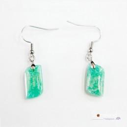 Boucles d'oreilles - Amazonite