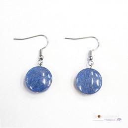 Boucles d'oreilles - Lazulite