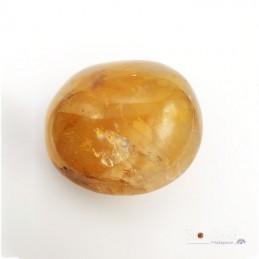Galet - Quartz Hématoïde jaune
