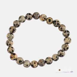 Bracelet - Jaspe dalmatien